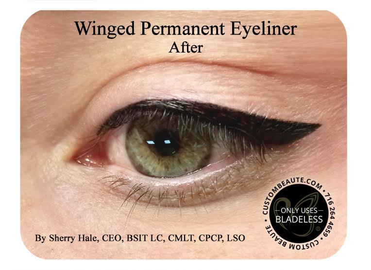 Winged Permanent Eyeliner Amherst Buffalo NY