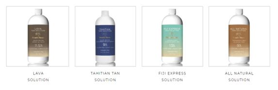 Many choices of spray tanning in Amherst NY